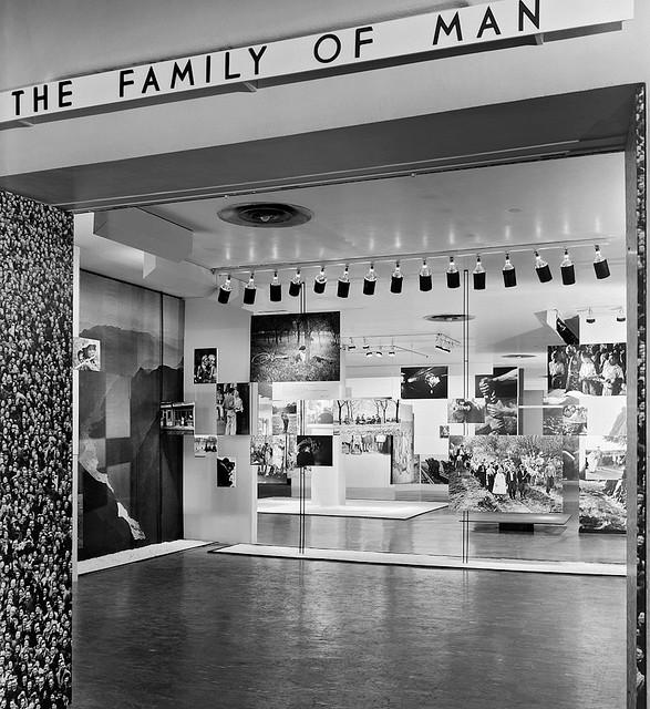 Family of Man at MoMA , New York NY , curator Edward Steichen